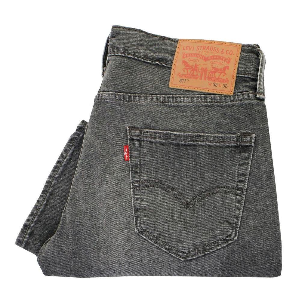 Levis 511 Grey Slim Fit Denim Jeans 045112164