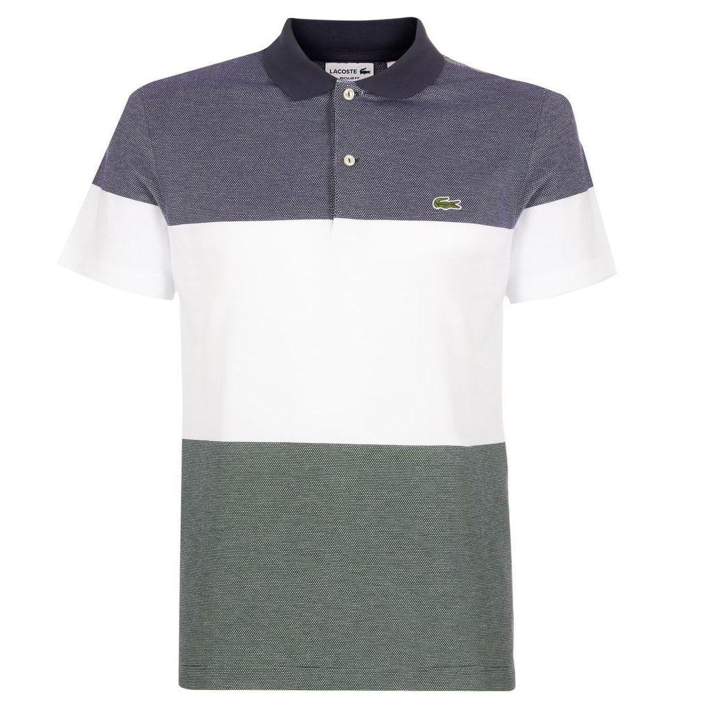 Lacoste Bord Cotes Striped Polo Shirt PH2068