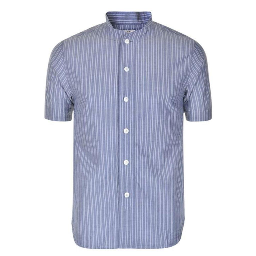 YMC Stripe Baseball Shirt