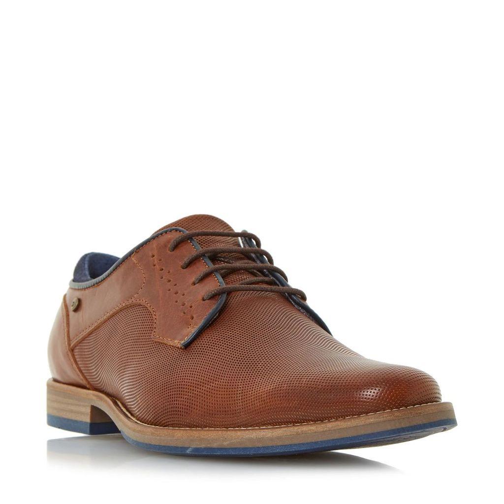 Beavis Embossed Leather Gibson Shoe