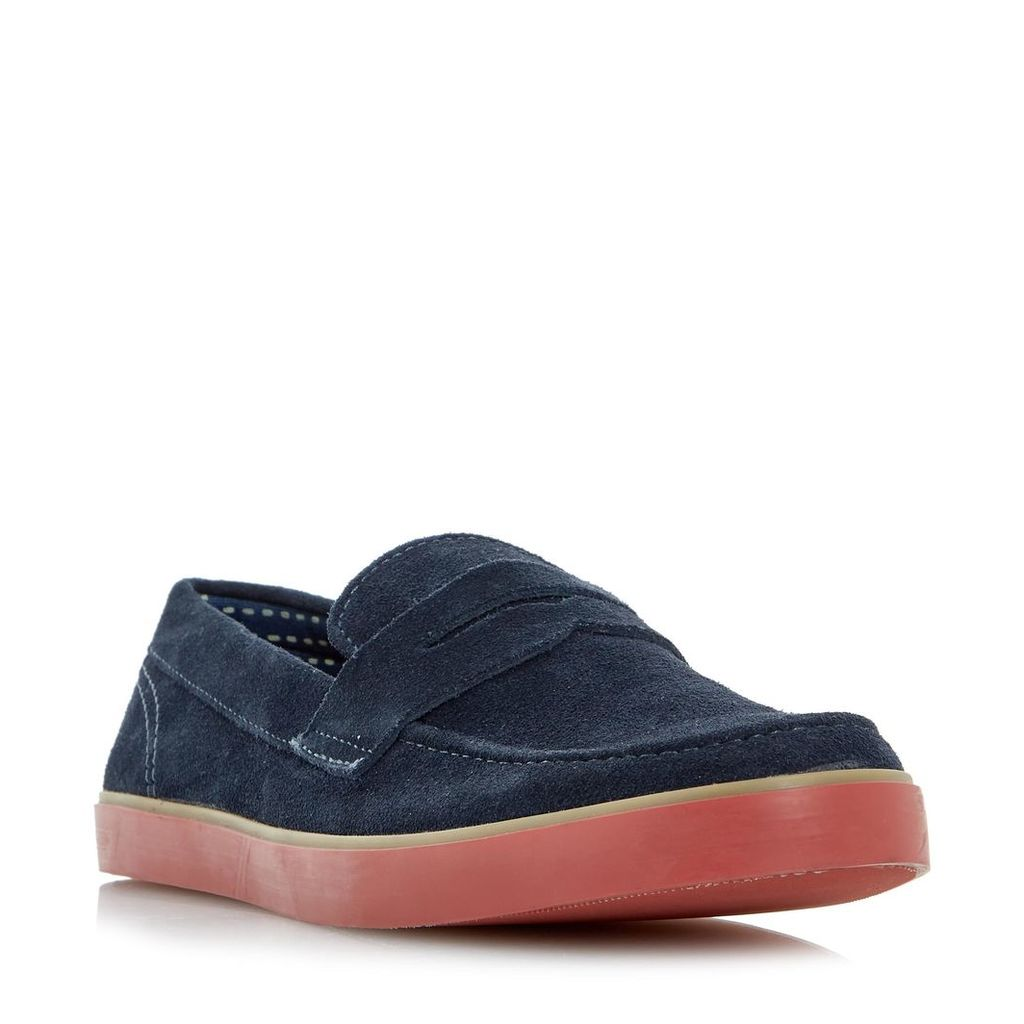 Bryson Contrast Sole Penny Loafer Shoe