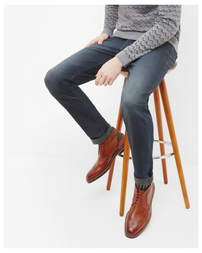 Ted Baker Straight fit jeans Dark Wash
