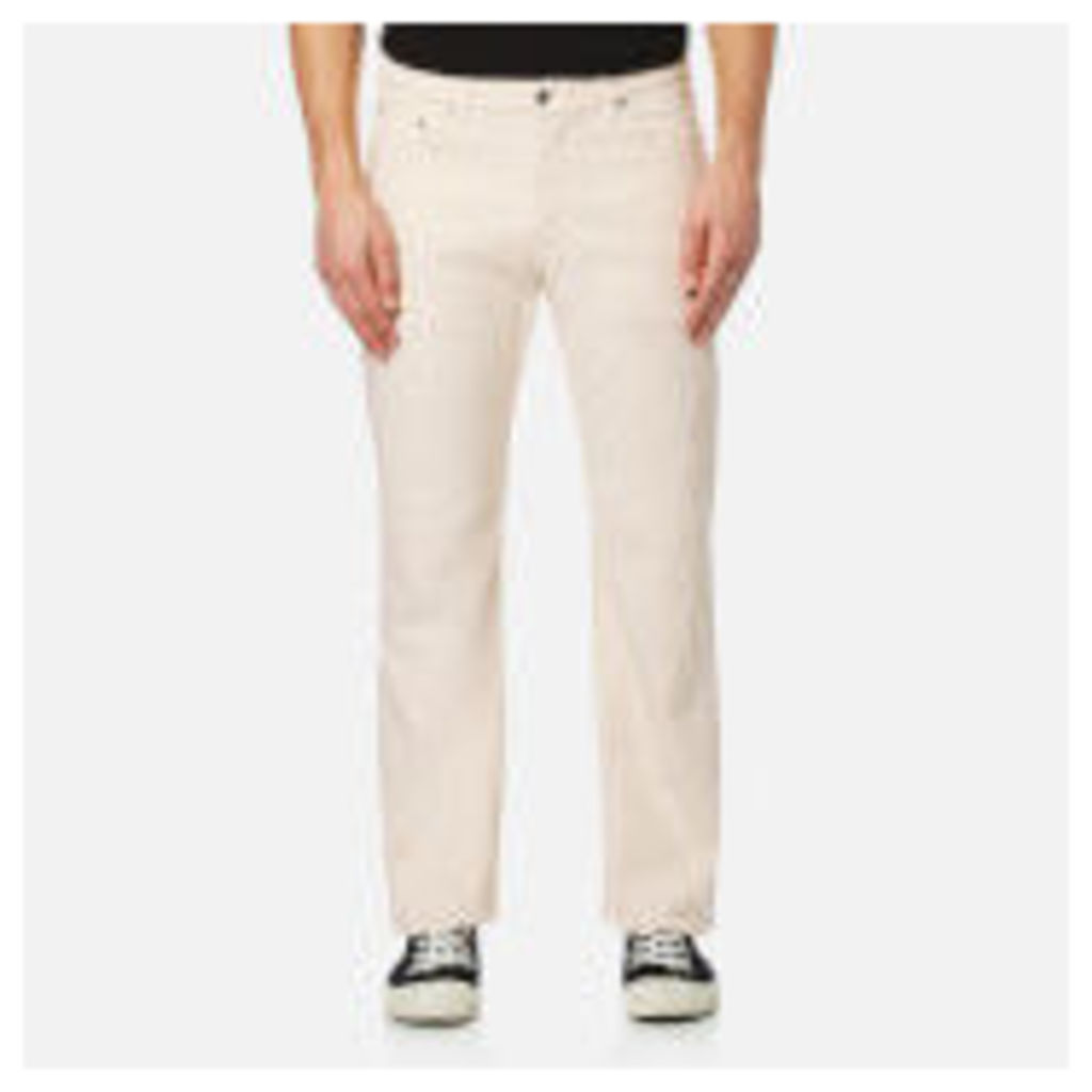 Edwin Men's ED-30 Loose Straight Cropped Jeans - Natural - W36/L28