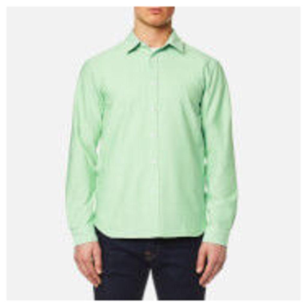 Edwin Men's Cadet Shirt - Mint - XXL