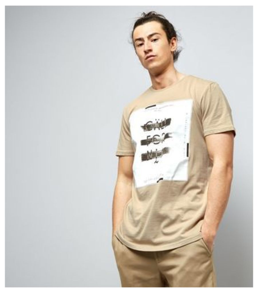 Stone California Box Print T-Shirt