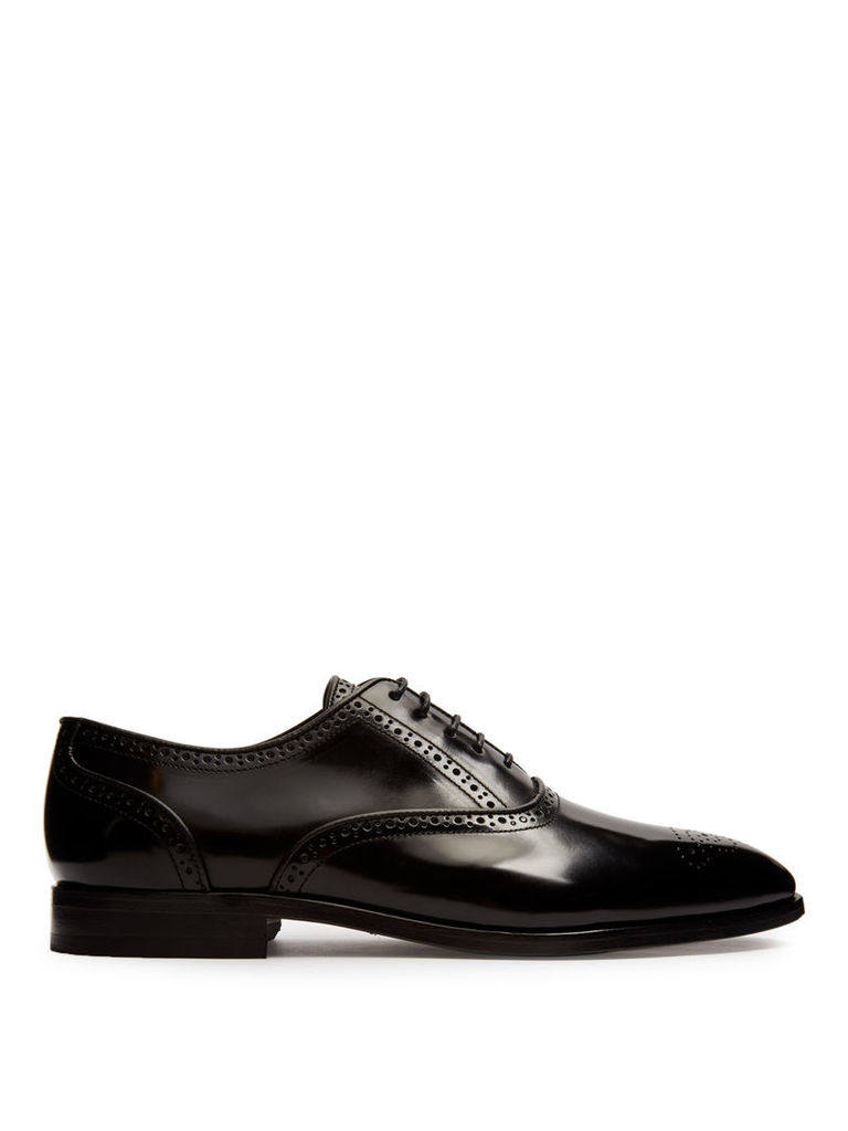 Gilbert leather brogues