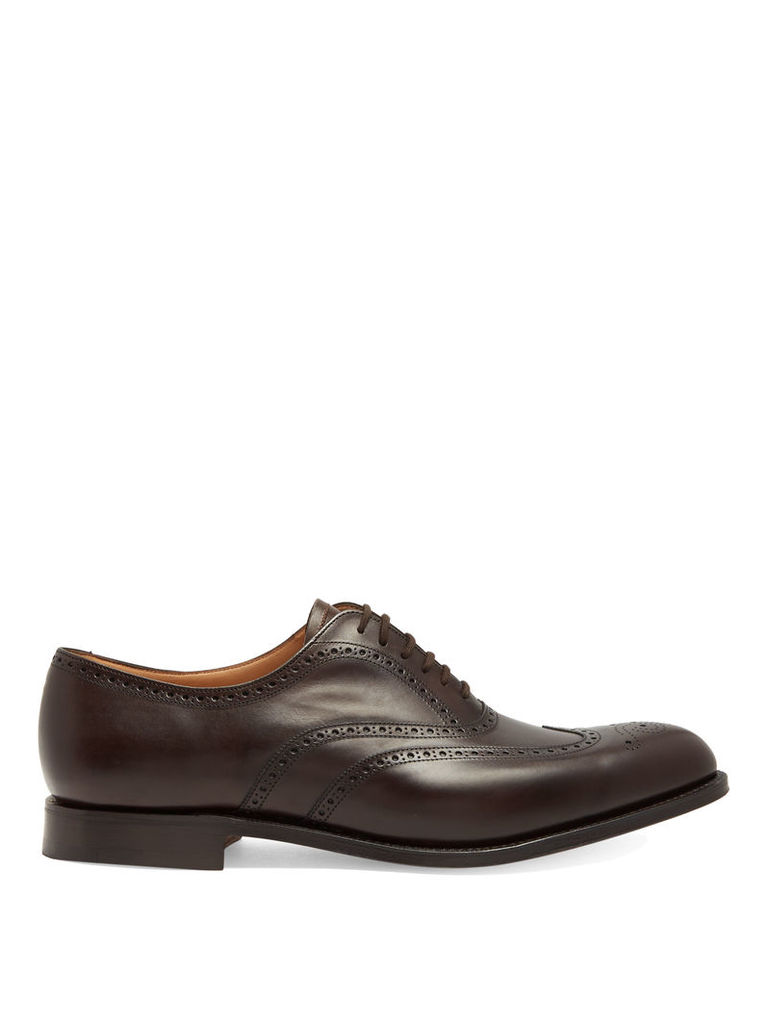 Berlin leather derby shoes