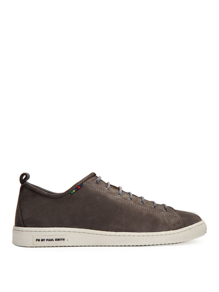 Miyata suede low-top trainers