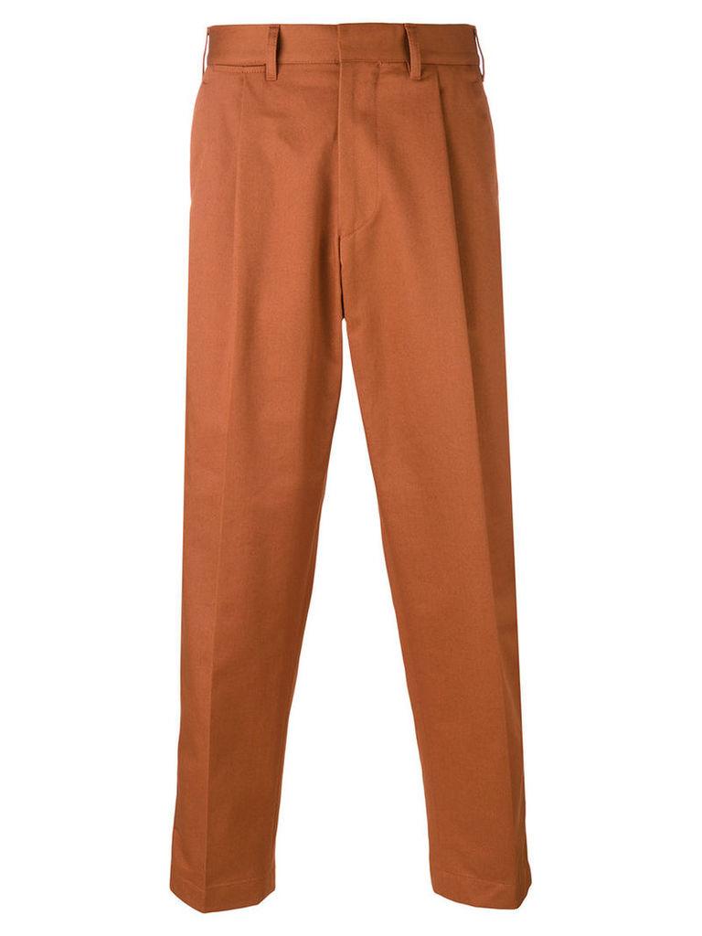 The Gigi - Craig cropped trousers - men - Cotton - 46, Brown
