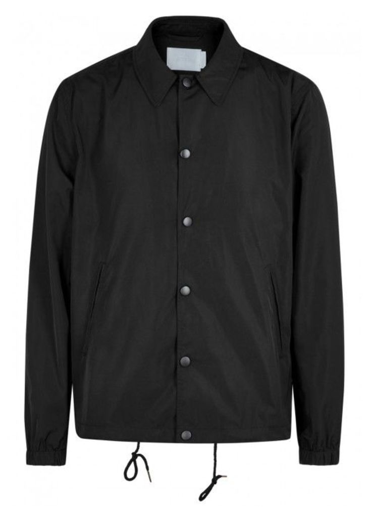 ADYN Circa Black Printed Shell Jacket - Size M