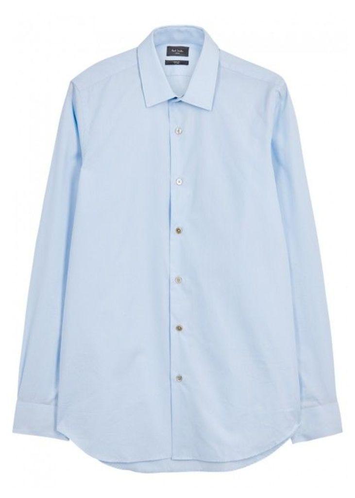 Paul Smith Soho Light Blue Cotton Shirt - Size 16.5