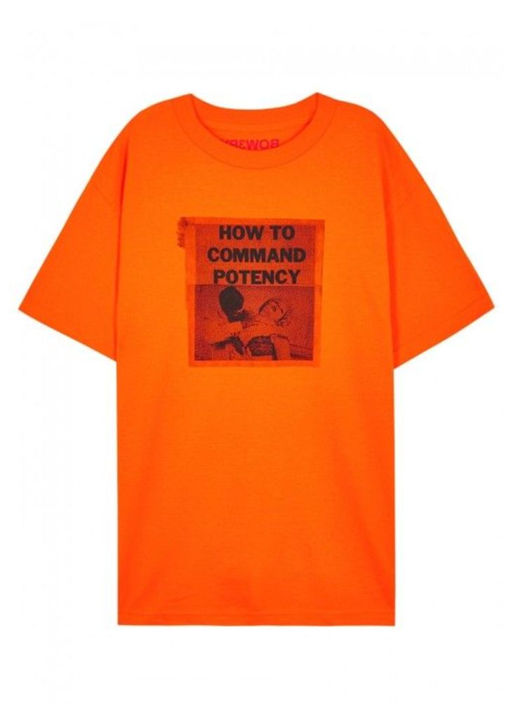 BOW3RY Potency Printed Cotton T-shirt - Size M