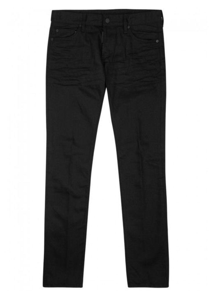 DSQUARED2 Black Slim-leg Jeans - Size W32