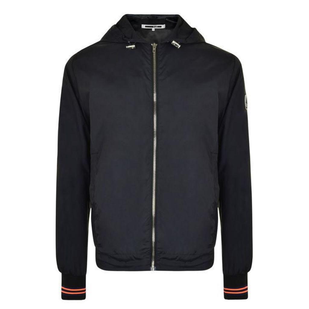 MCQ ALEXANDER MCQUEEN Logo Hooded Lightweight Jacket