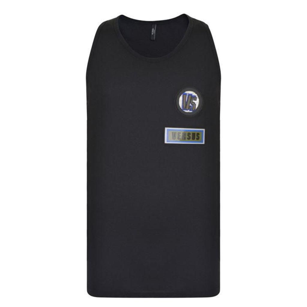 VERSUS VERSACE Badge Logo Vest