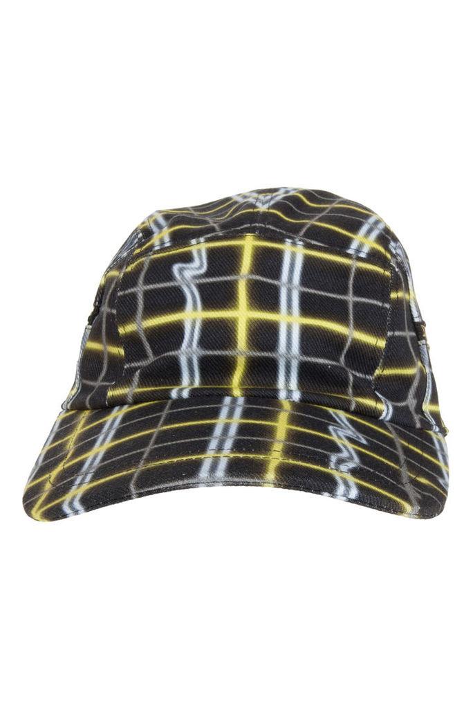 Kenzo Men`s Neon Plaid Caps Boutique1