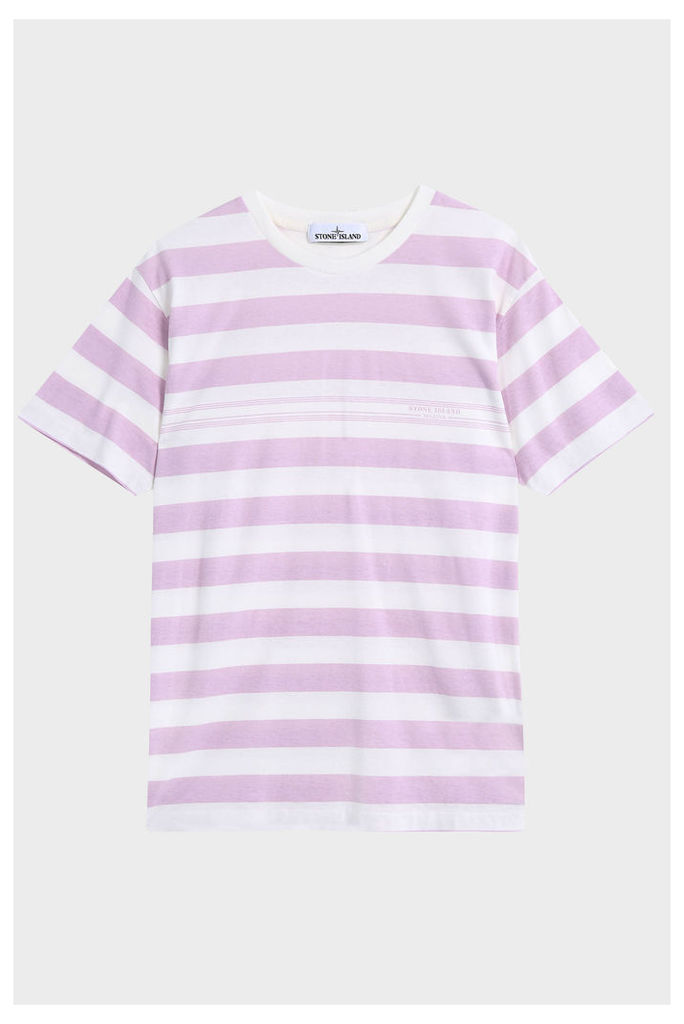 Stone Island Men`s College Stripe T-shirt Boutique1
