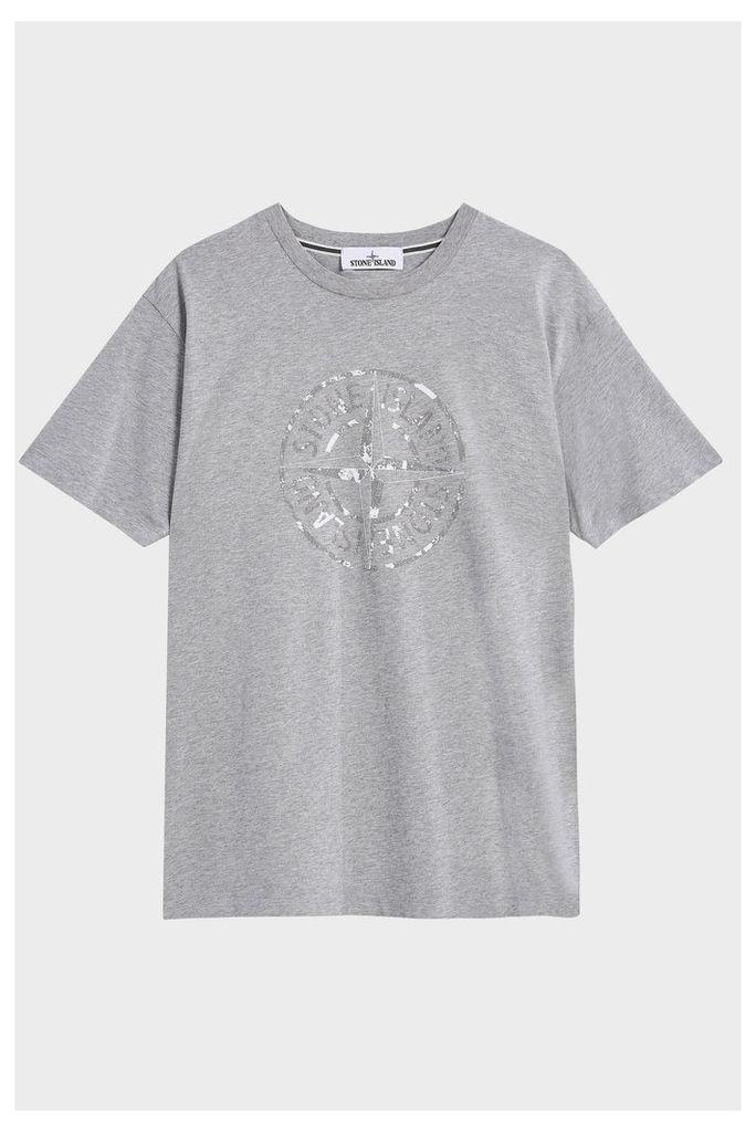 Stone Island Men`s Logo Printed T-shirt Boutique1