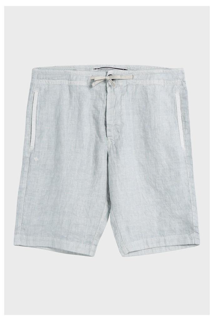 Stone Island Men`s Linen Shorts Boutique1