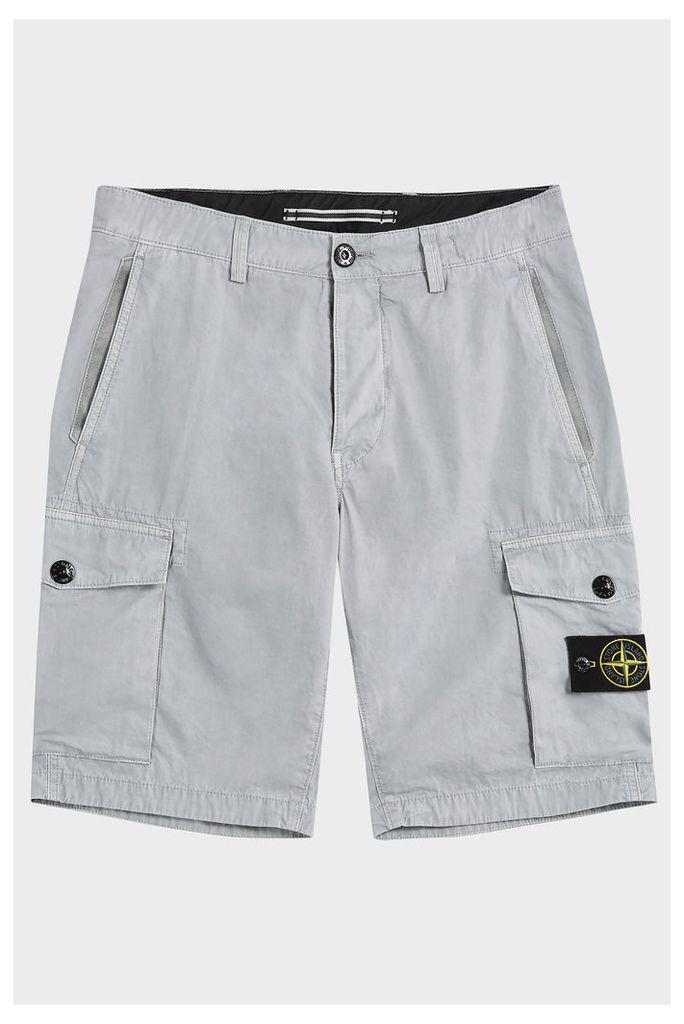 Stone Island Men`s Classic Cargo Shorts Boutique1