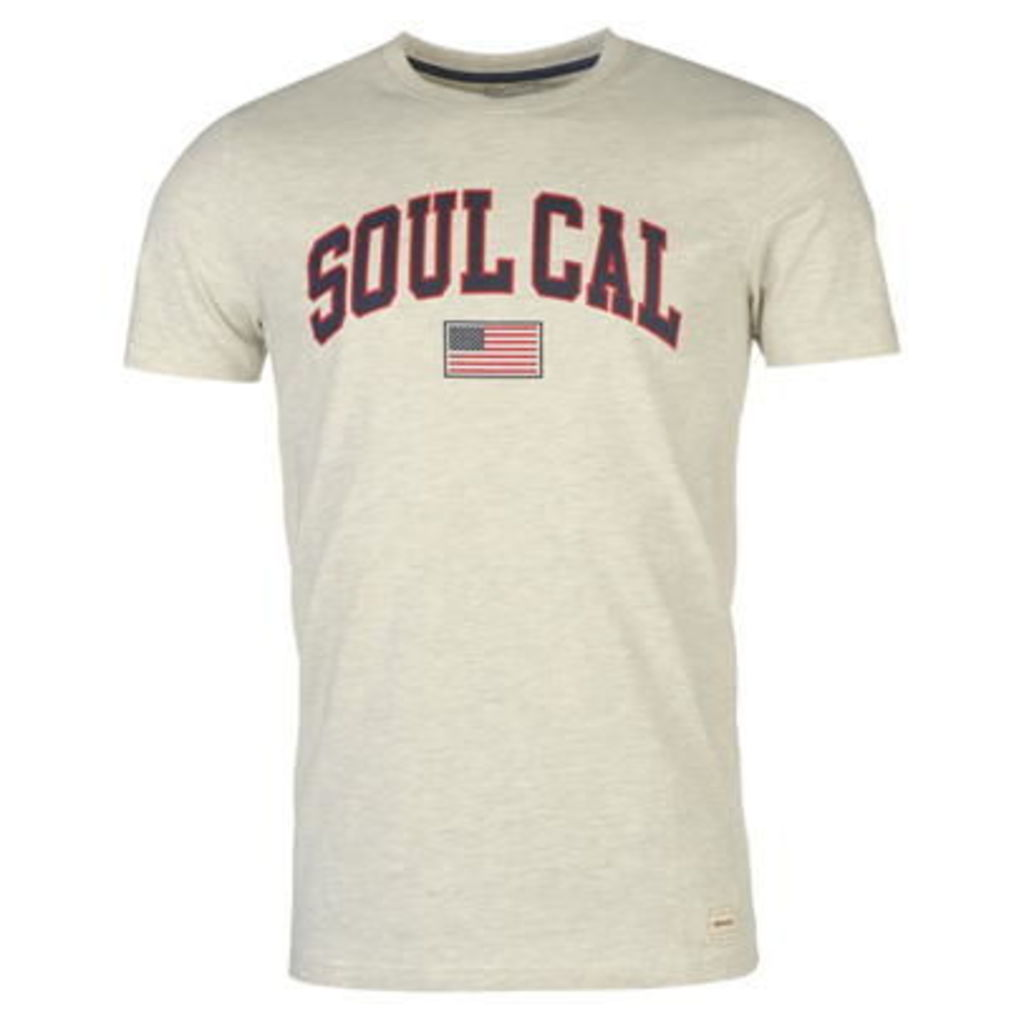 SoulCal Deluxe USA Flag T Shirt