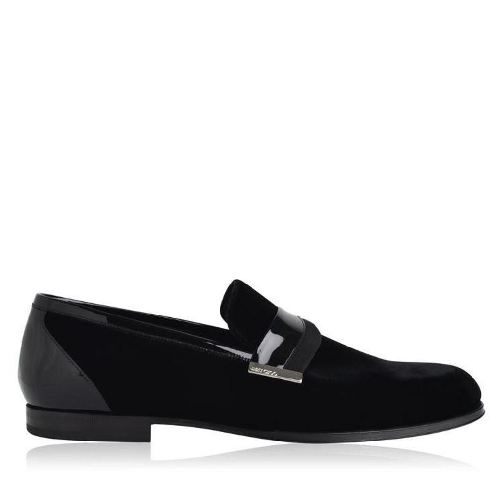 JIMMY CHOO Francis Velvet Shoes