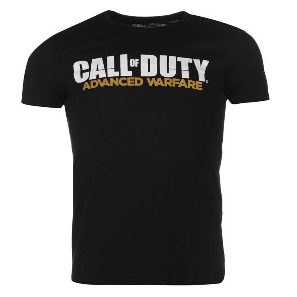 Official Call Of Duty Advanced Warfare T Shirt Mens