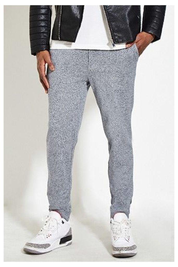 Slim Marled Pants