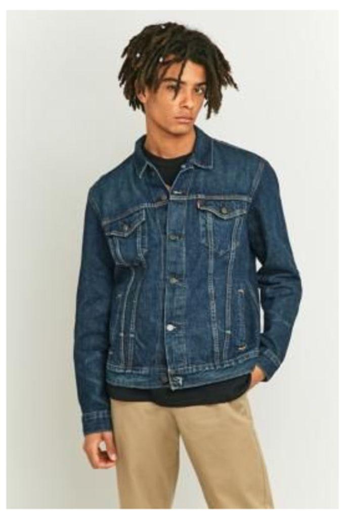 Levi's B Side Selvedge Denim Trucker Jacket, INDIGO