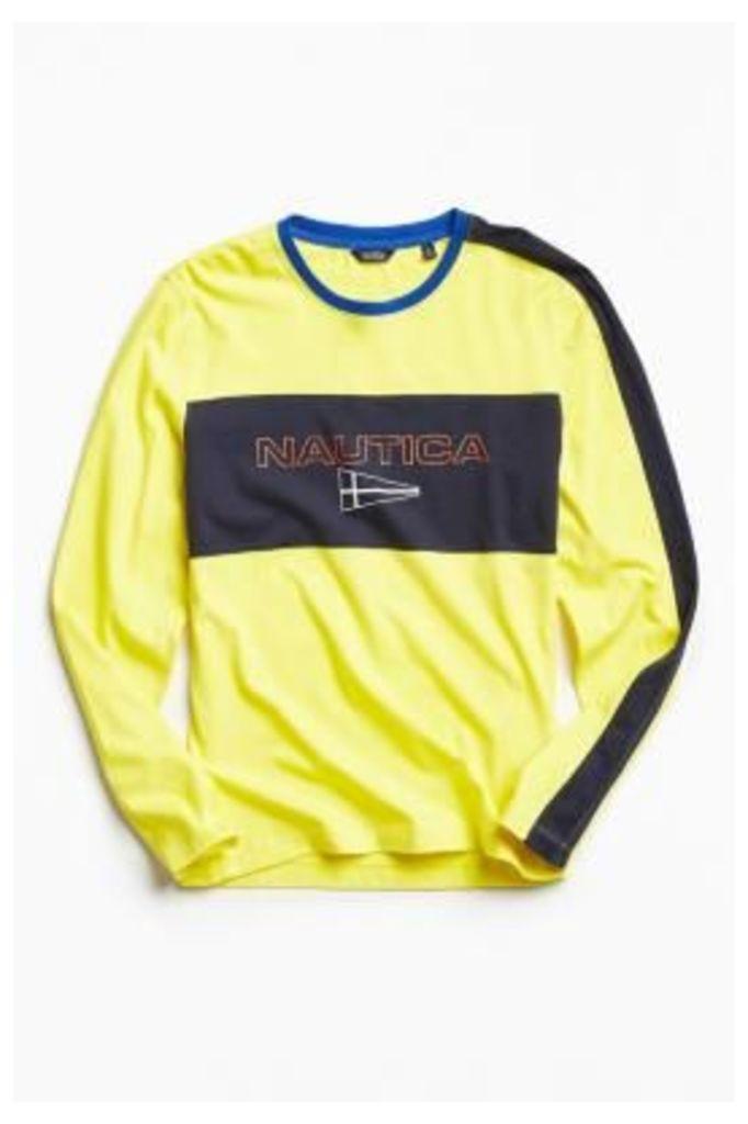 Nautica + UO Long Sleeve T-shirt, YELLOW