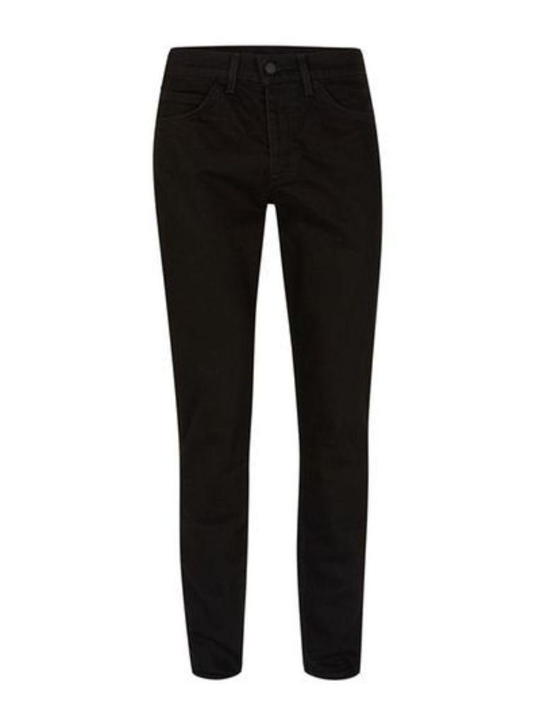 Mens LEVI'S Line 8 Black Slim Straight Jeans, Black
