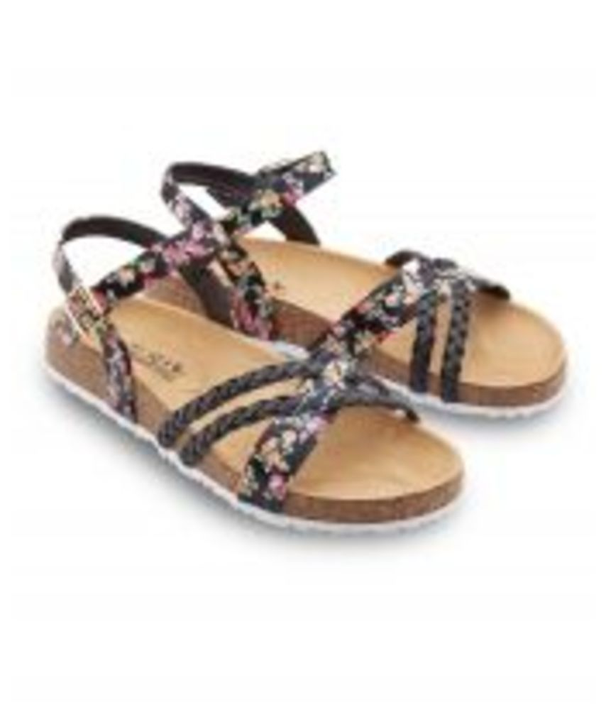 Fun And Funky Footbed Sandals