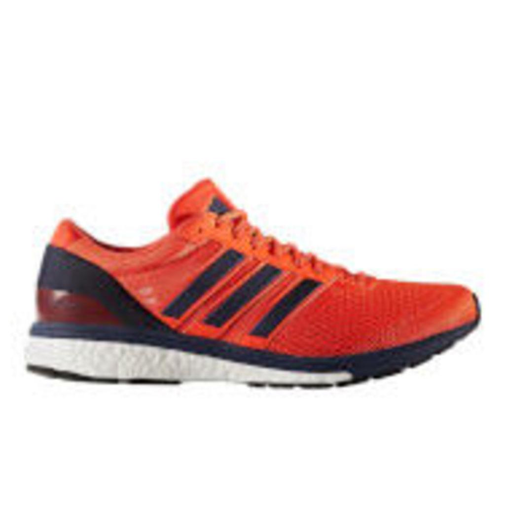 adidas Men's Boston 6 Running Shoes - Energy Red - US 8/UK 7.5