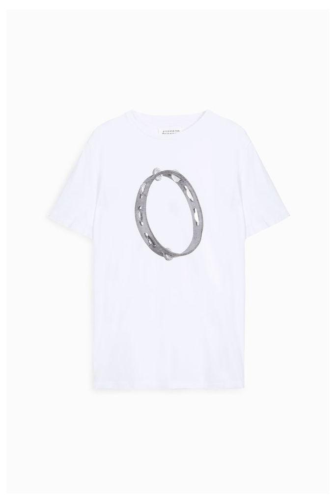 Maison Margiela Men`s Cotton Circle T-shirt Boutique1