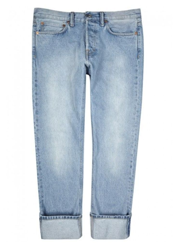 Our Legacy First Cut Blue Straight-leg Jeans - Size W30