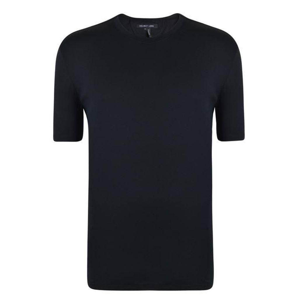 HELMUT LANG Basic Curve Hem T Shirt