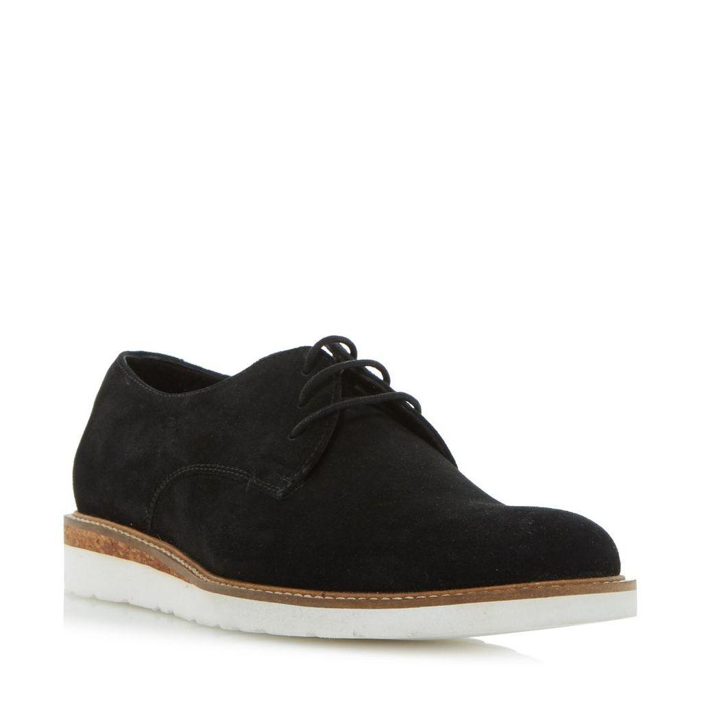 Bronx Cork Wedge Lace Up Gibson Shoe