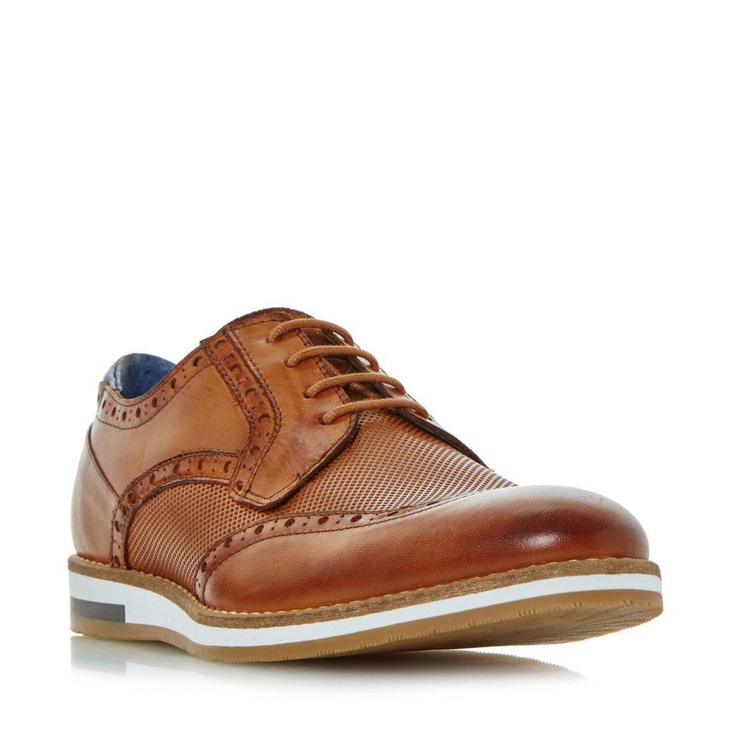 Baker Hill Wedge Sole Brogue Shoe