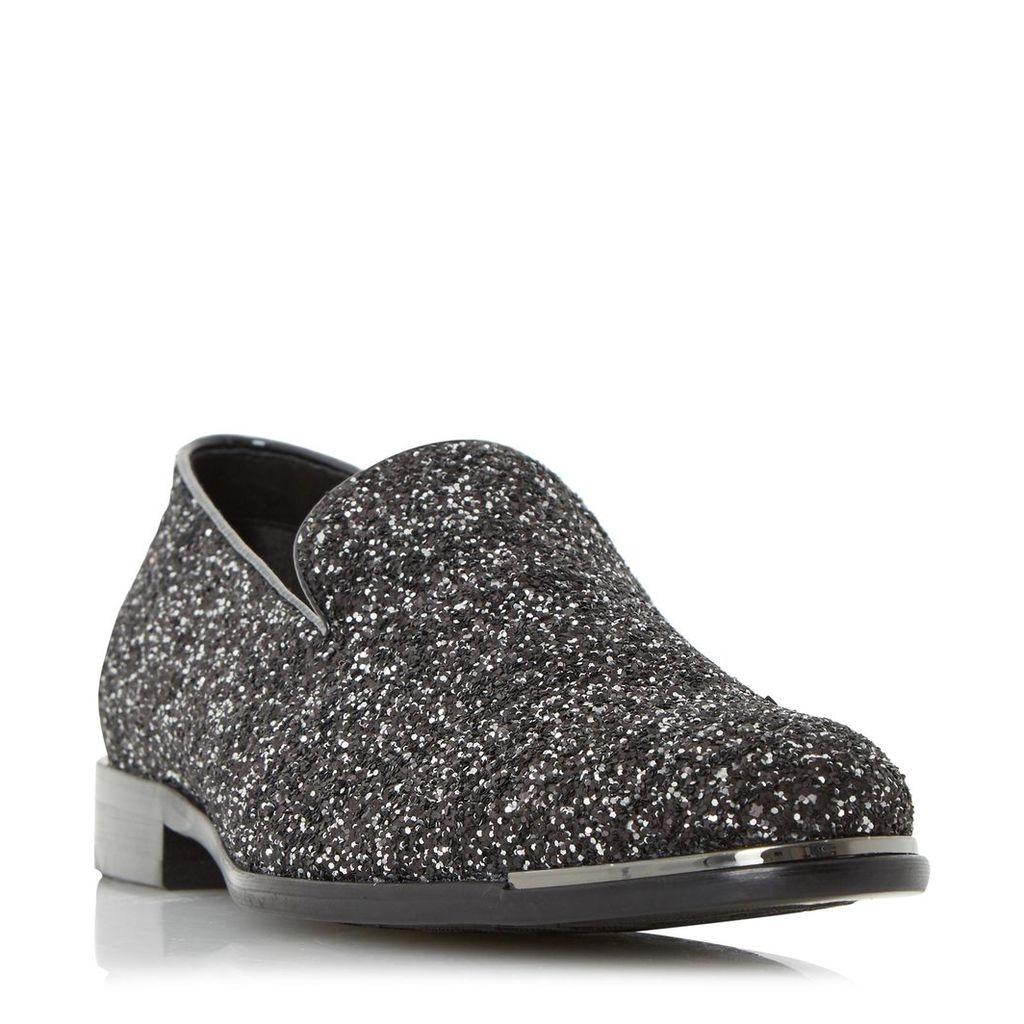 Rockstar Glitter Slipper Cut Loafer Shoe