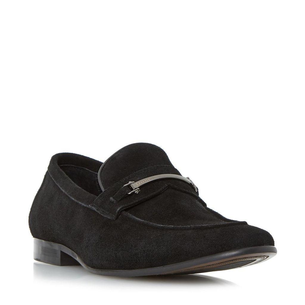Pistol Metal Snaffle Trim Loafer Shoe