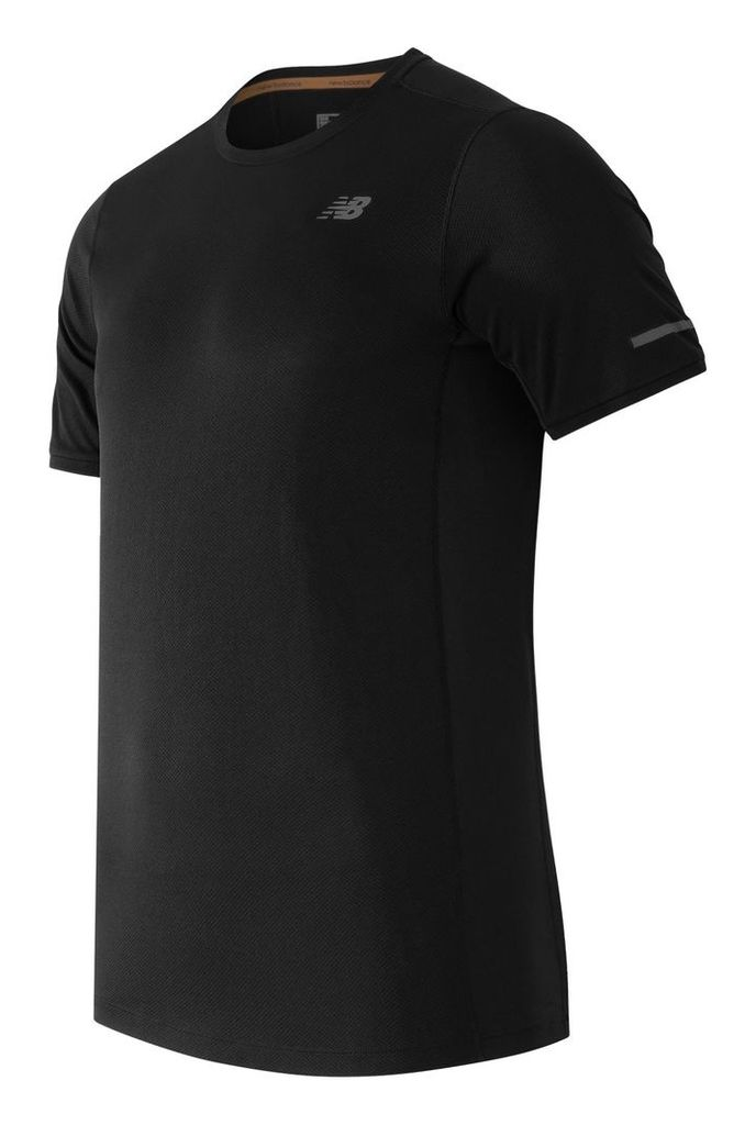 New Balance NB Ice Short Sleeve Men's Apparel Outlet MT61229BK