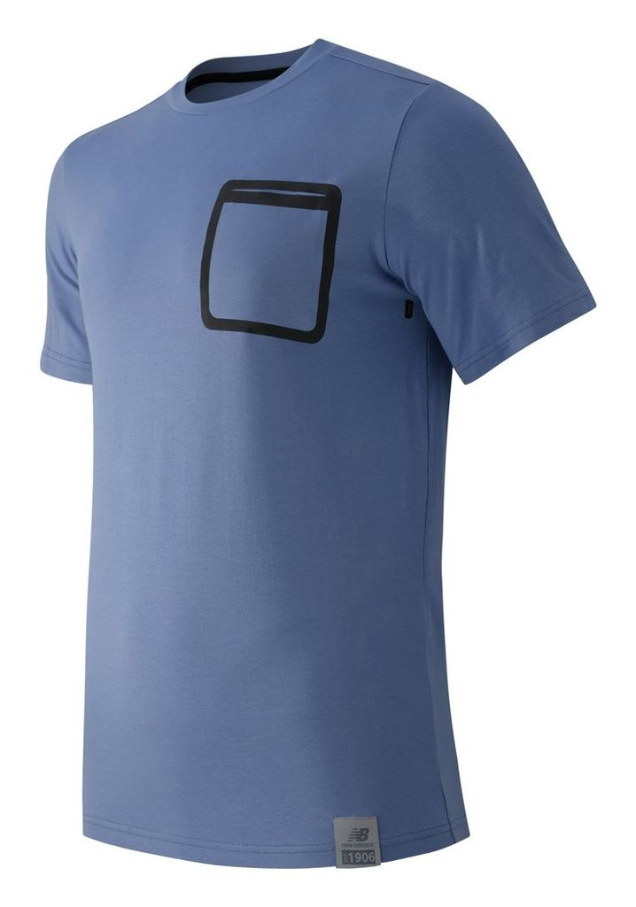 New Balance Push the Past Tee Men's Apparel Outlet MT61559ICA