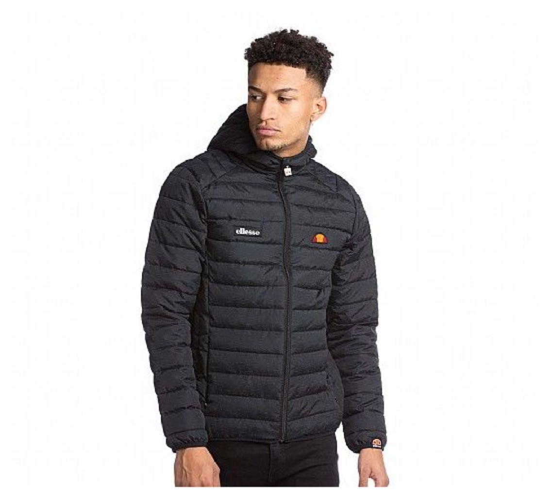 Leobard Reflective Fleck Puffer Jacket