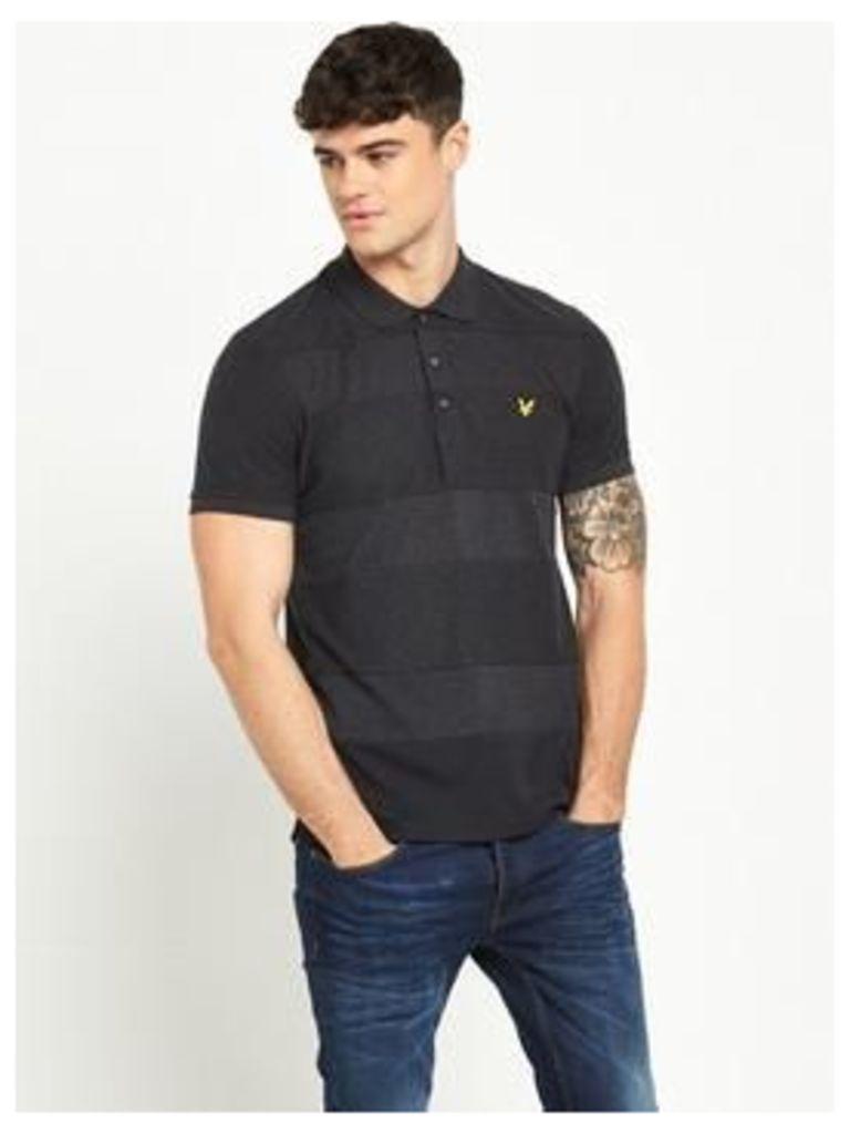Lyle & Scott Reverse Stripe Polo Shirt