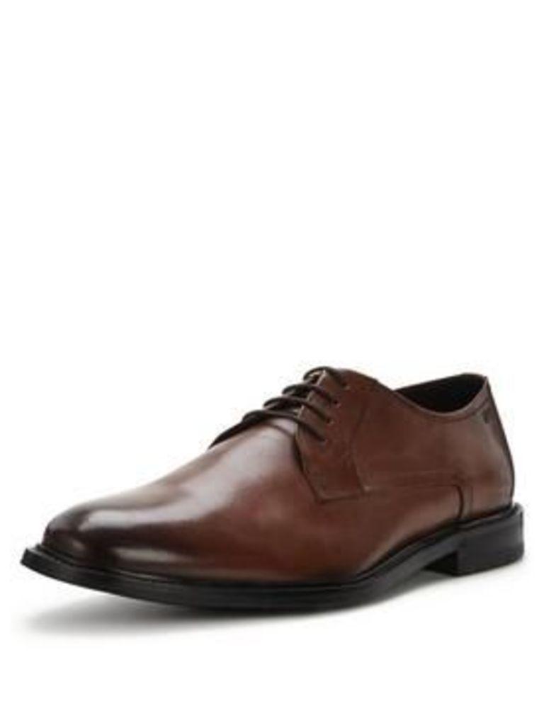 Hugo Boss Hugo Boss Neoclass Derby Shoe - Medium Brown