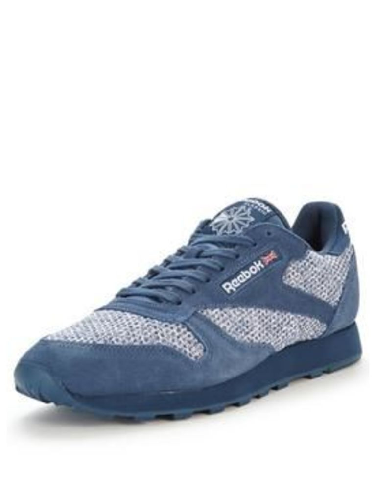 Reebok Classic Leather Knit Trainers
