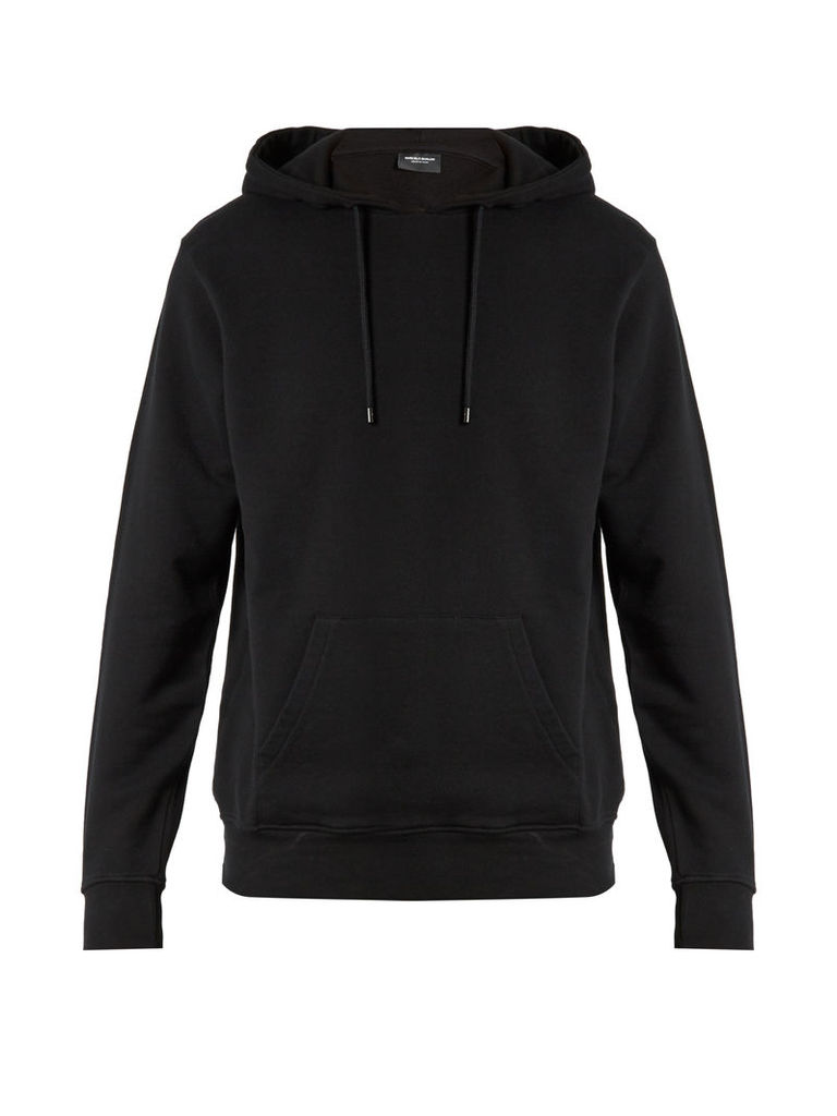 Santiago hooded cotton-jersey sweatshirt