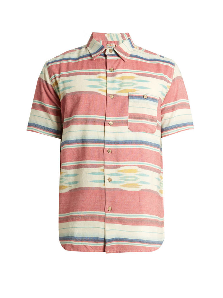 Coast patch-pocket cotton shirt