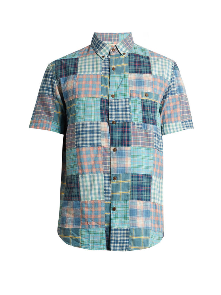 Coast cotton patchwork shirt