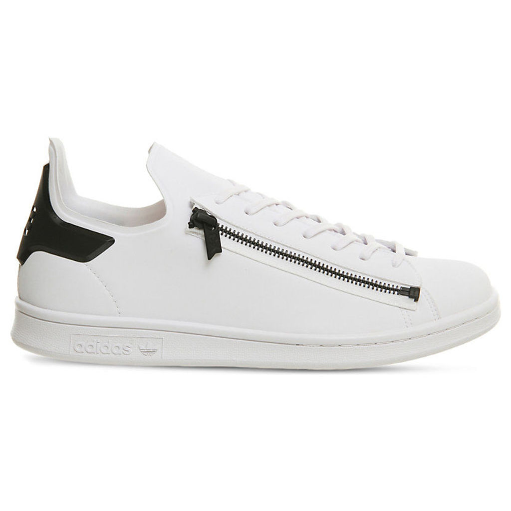 Stan Zip leather trainers